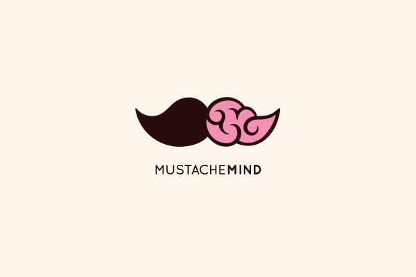 Mustache Mind Consultant Logo