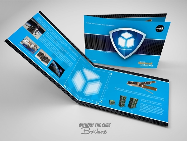 NASA Cube Sat Pop-Up Brochure