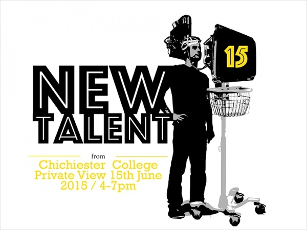 New Talent Chichester Show Flyer