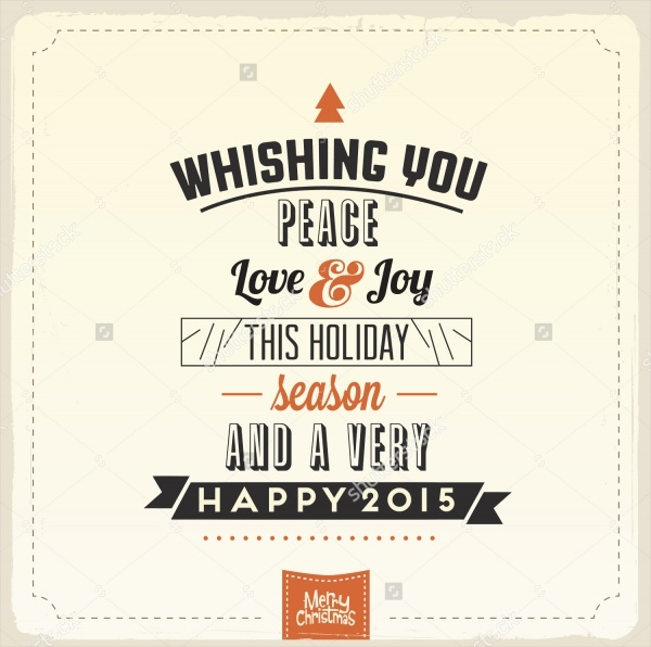 New year Holiday Greeting Card Design