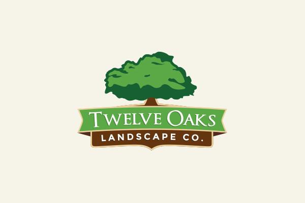 Oak Tree Landscaping Logo