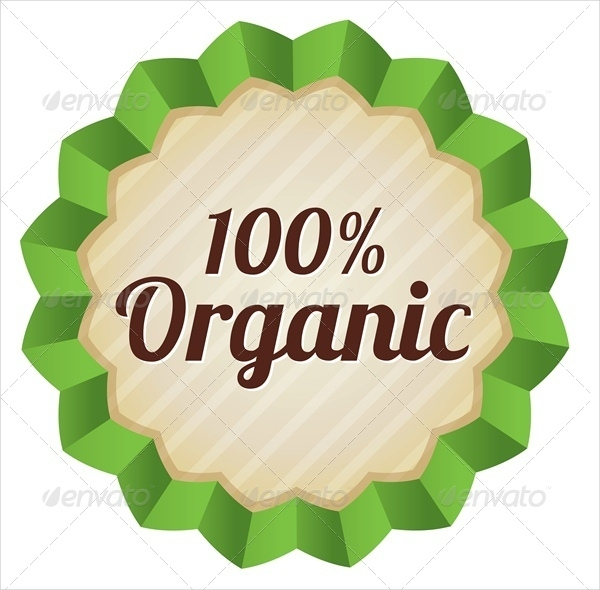 Organic Food Products Tag
