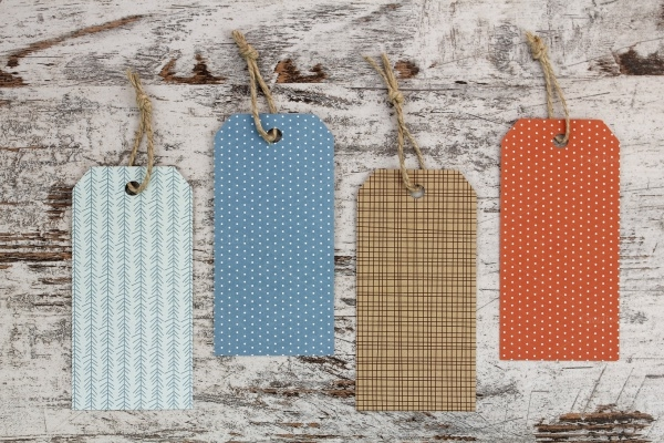 Paper Hang Tag Design