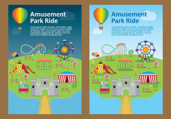 Park Flyer Vector Design