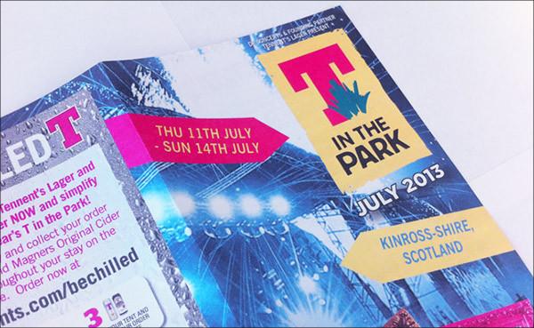 Park Ticket Flyer template