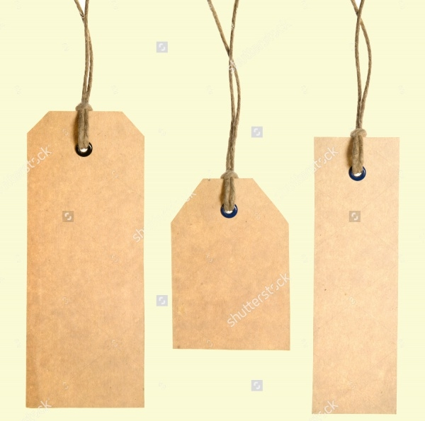 Personalized Cardboard Tag