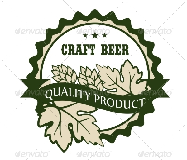 Personalized Craft Beer Design Label