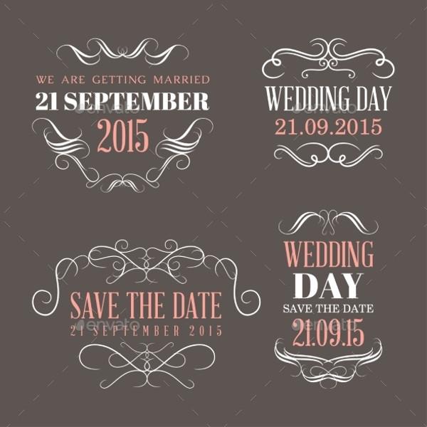 Personalized Wedding Label Design