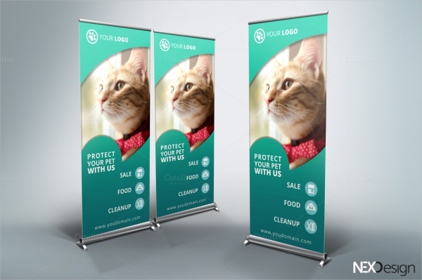 Pet Shop Roll-Up Banner