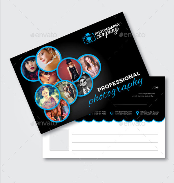 Photography Post Card Design