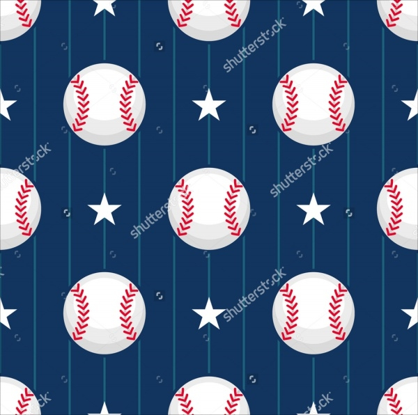Photoshop Baseball Sport Pattern