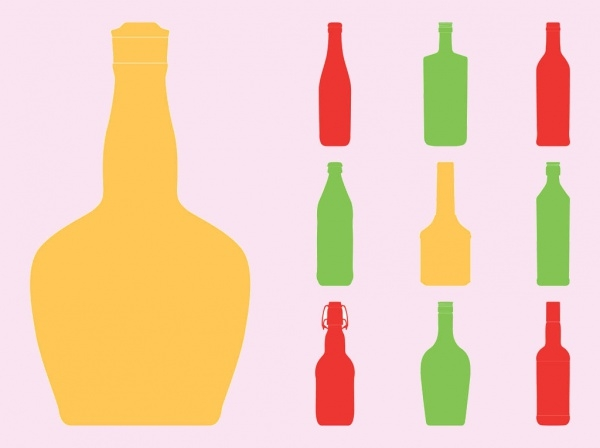 Photoshop Wine Bottle Vector