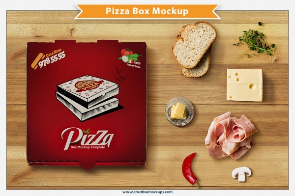 Pizza Cardboard Box Packaging