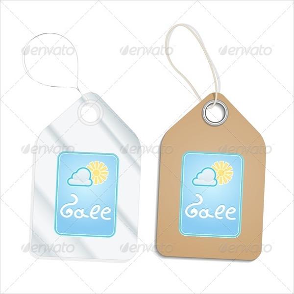 Plastic & Cardboard Hang Tag