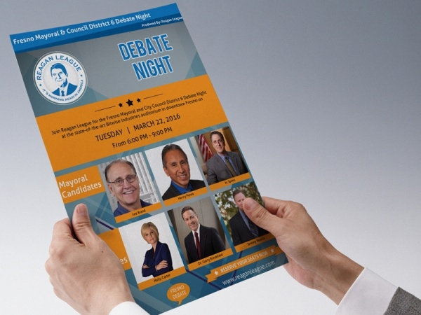 Political Debate Flyer