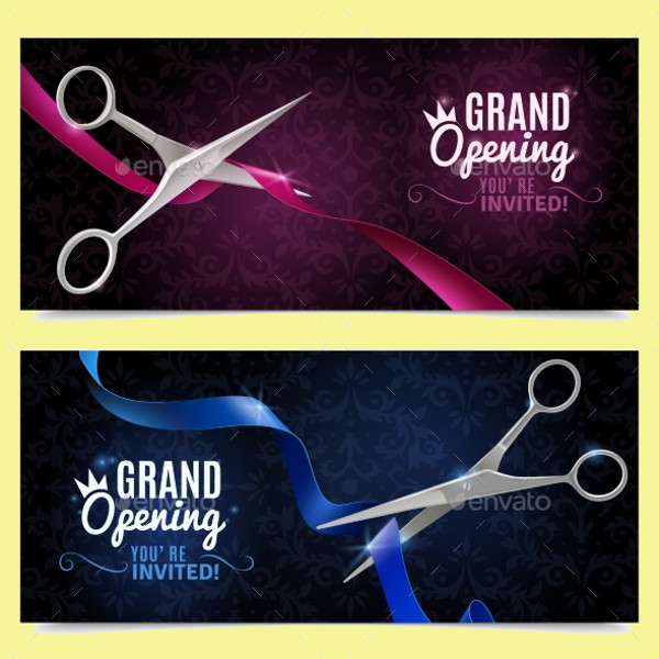 20 Grand Opening Banner Designs Psd Vector Eps Jpg