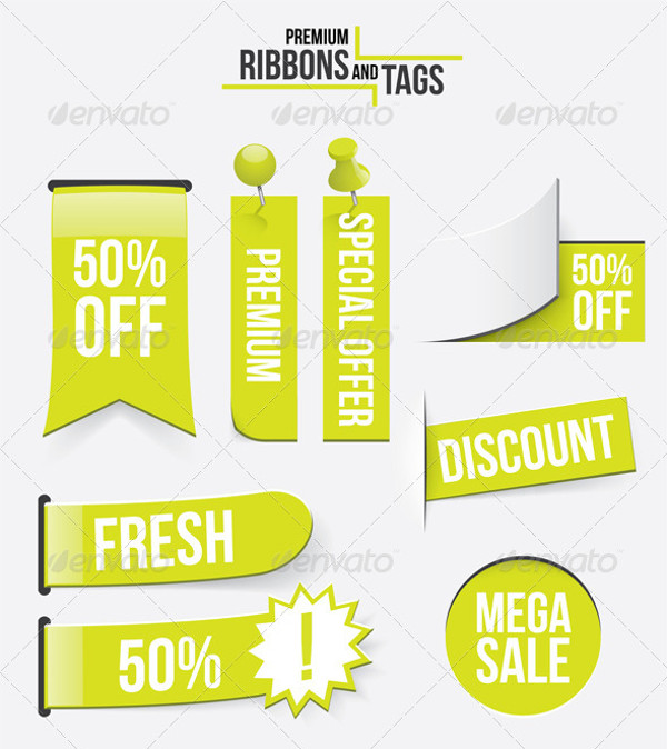 Premium Ribbons and Tags