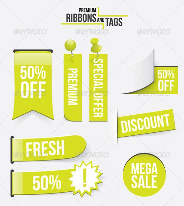 Premium Ribbons and Tags