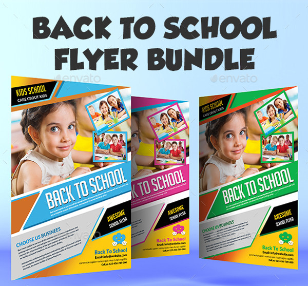 Printable Back to School Flyer