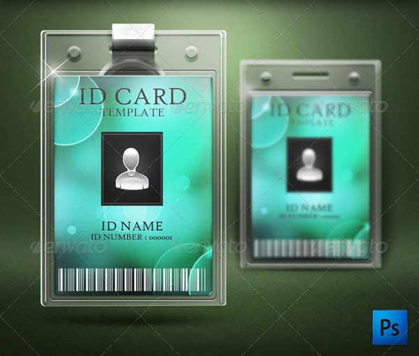 Printable ID Card Design