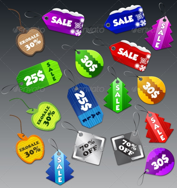 Printable Product Sale Tag