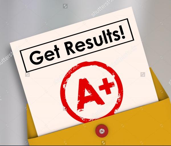 Printable Report Card
