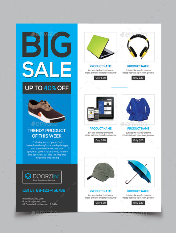 Product Big Sale Flyer Design