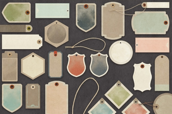 Product Paper Tags Collection