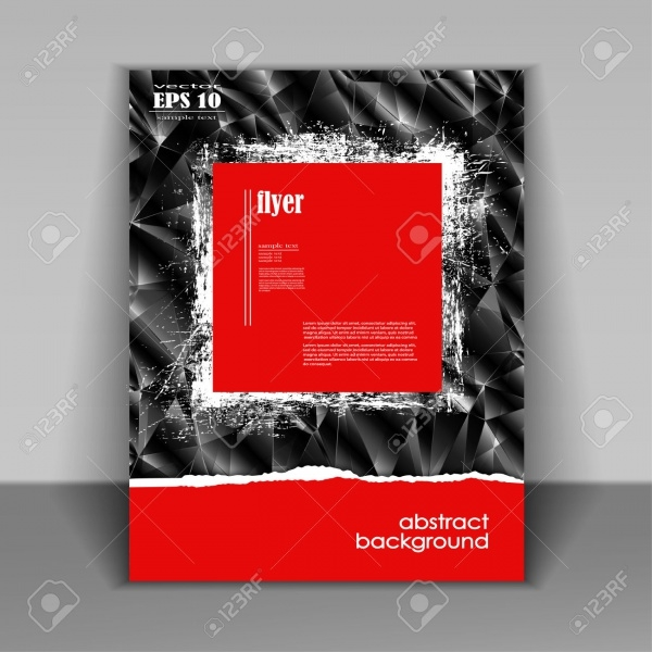 Professional Business Red Flyer Template