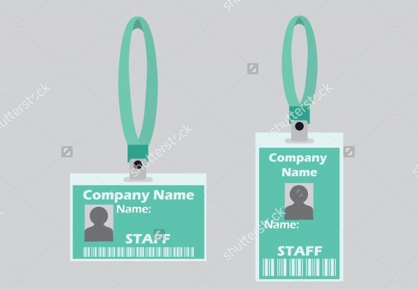Professional Name Tag Design