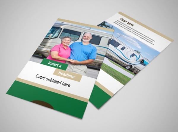 RV Sales Flyer Template
