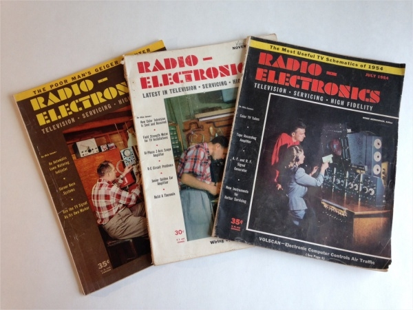 Radio Electronics Magazine Design