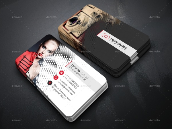 Rain Photography Business Card
