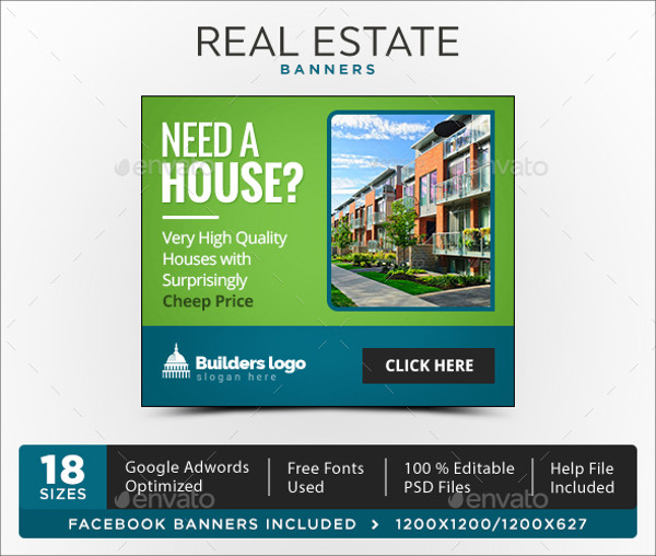 Real Estate Advertising Banner