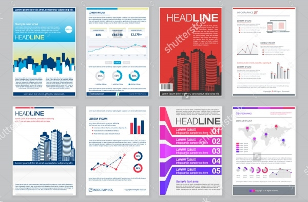 Real Estate Business Info graphics Presentation