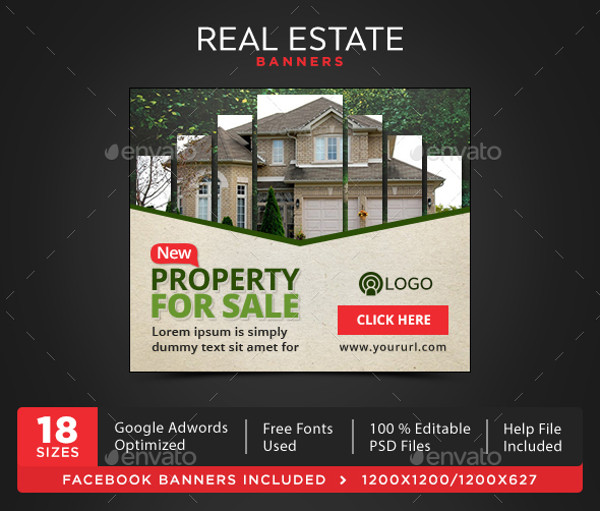 Real Estate Flash Banner