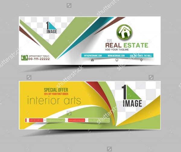Real Estate PSD Banner