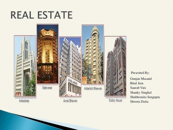 Real Estate Presentation For Desktop