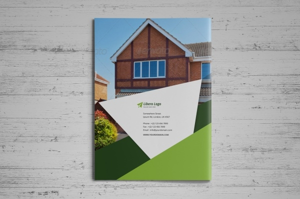 Real Estate Property Rent Brochure