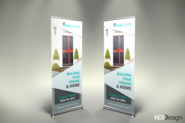 Real Estate Advertisement Banner