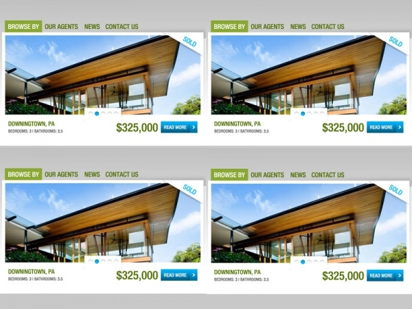 Real Estate Website Project - Banner Rotator