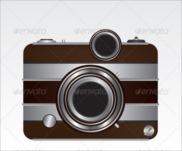 Realistic Camera Illustration