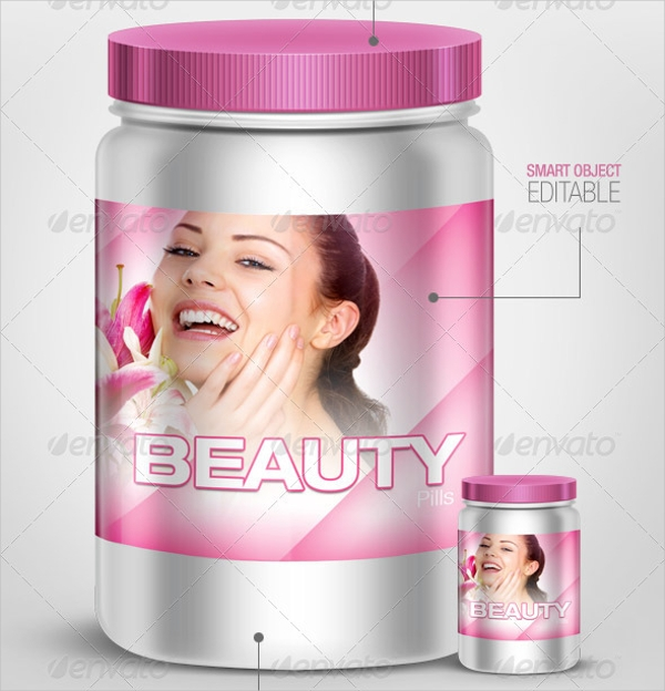 realistic product packaging design
