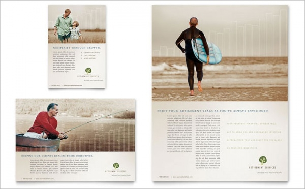 Retirement Investment Services Flyer & Ad Template