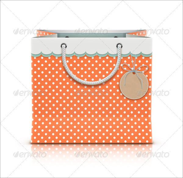 Retro Bag Tag Design