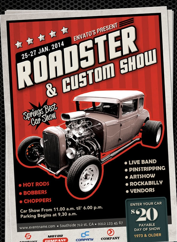 Roadster & Custom Vintage Car Show