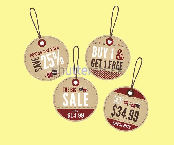 Rounded Swing Tag Design