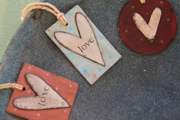Rustic Shabby Cardboard Tags