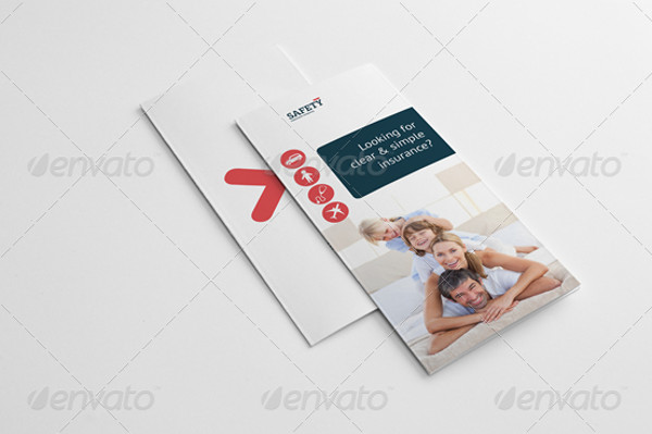 Safety Insurance Trifold Brochure
