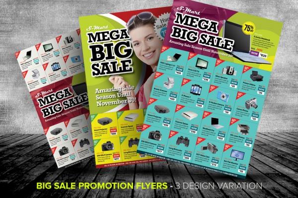 Sale Promotion Flyer Design